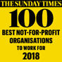 Best not-for-profit to work for 2018